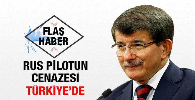 Davutoğlu'ndan flaş Rus pilot açıklaması!