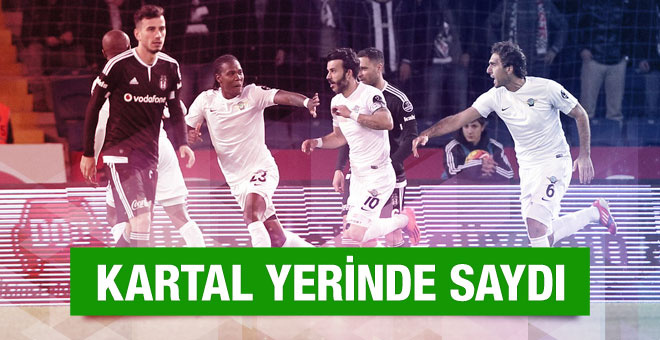 Beşiktaş-Akhisar Belediyespor maçı canlı anlatım