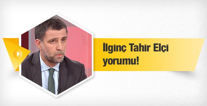 Hakan Şükür'den ilginç Tahir Elçi yorumu!