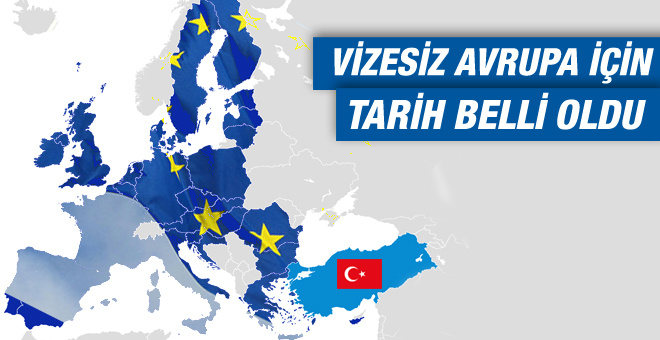 Vizesiz Avrupa hayali gerçek oluyor!
