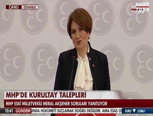 Meral Akşener MHP Genel Başkan adaylığını açıklayacak
