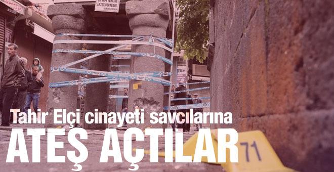Tahir Elçi cinayeti savcılara ateş açıldı