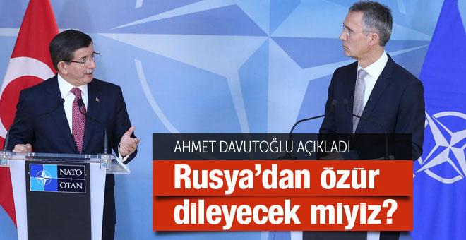 Türkiye Rusya'dan özür dileyecek mi flaş haber