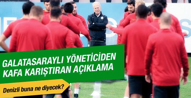 Galatasaray'ı karıştıran açıklama