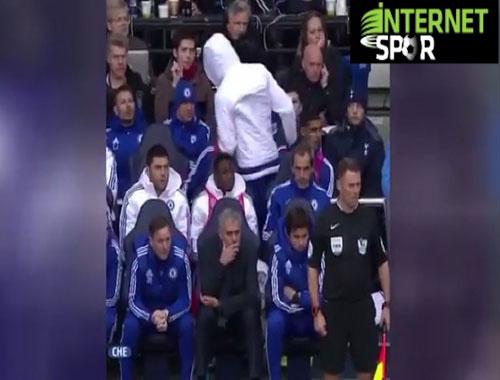 Mourinho'ya şok tepki!