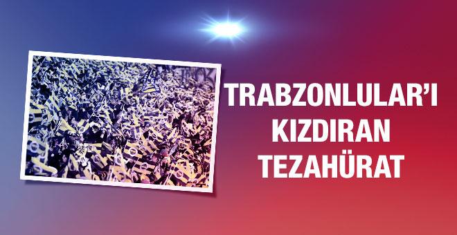 Trabzonsporluları kızdıracak tezahürat!