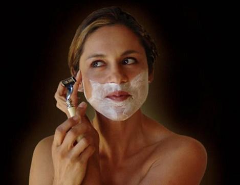 как девушки бреются фото
