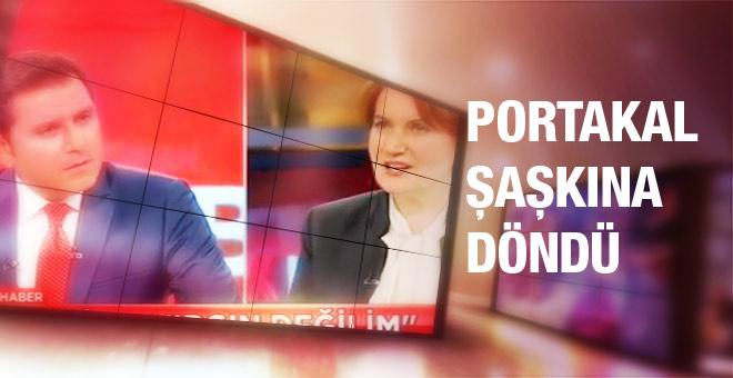 Meral Akşener'in sözleri Fatih Portakal'ı şaşkına çevirdi