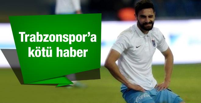 Mehmet Ekici'den Trabzonspor'a kötü haber