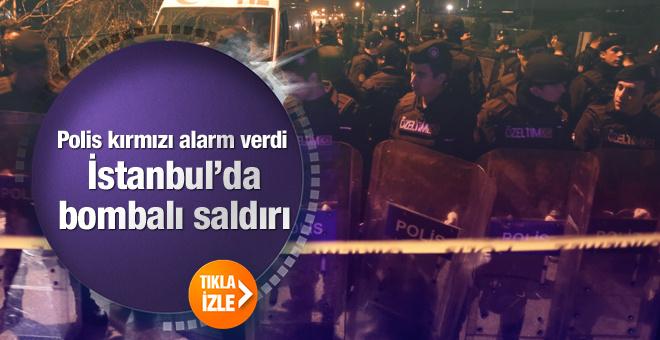 İstanbul'da patlama oldu yaralılar var