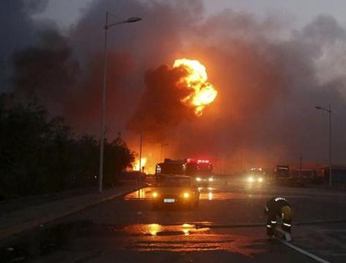 Bu görüntü İstanbul'daki patlama mı?