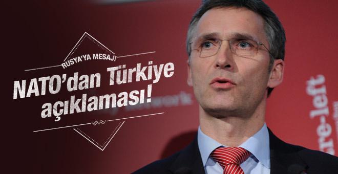 NATO'Dan Türk hava sahası için flaş açıklama!