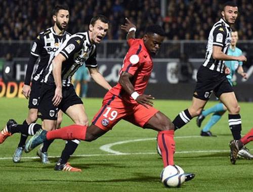 PSG'nin serisini Angers bitirdi