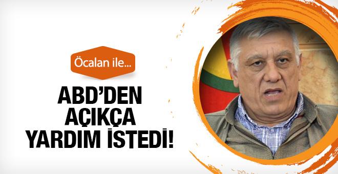 PKK lı Bayık ABD den açıkça yardım istedi! Öcalan...