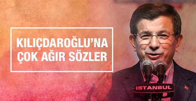 Başbakan Davutoğlu ndan Kılıçdaroğlu na bomba sözler