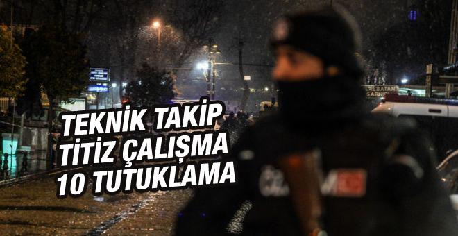 Sultanahmet saldırısında 10 tutuklama