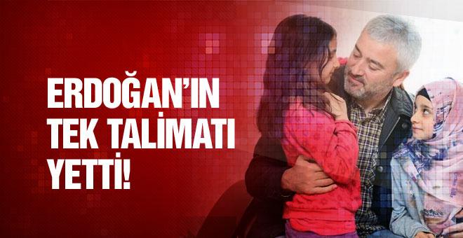 Erdoğan dan şehit ailesine ev