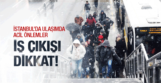 İBB den açıklama! İstanbul için nasıl önlemler alındı?