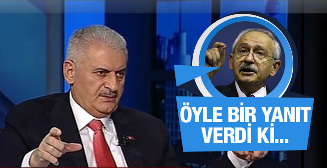 Binali Yıldırım Kılıçdaroğlu na öyle bir yanıt verdi ki...