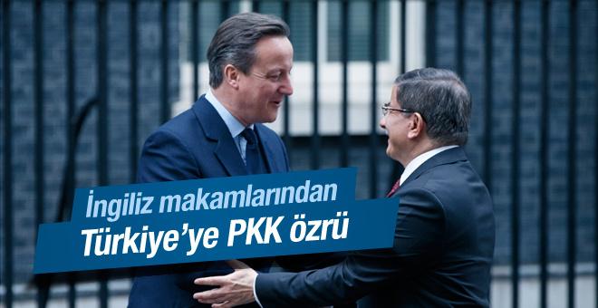 İngiltere den Türkiye ye PKK özrü!
