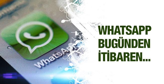 Whatsapp tan flaş karar uygulama artık ücretsiz!