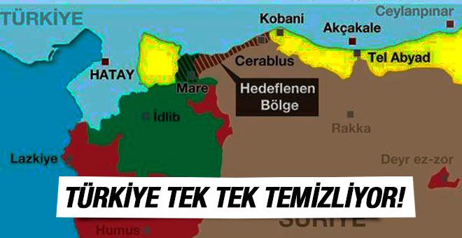 Türkiye Güvenli Bölge için mayın temizliyor!