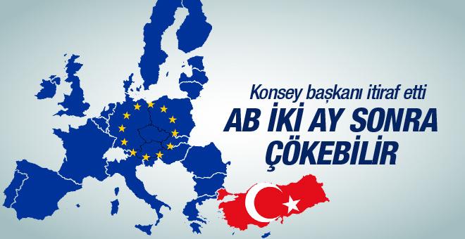 Avrupa Birliği iki ay sonra çökebilir!