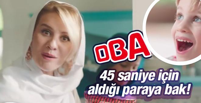 Esra Erol Oba makarna reklamıyla parayı götürdü