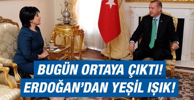 Erdoğan dan Leyla Zana ya olumlu yanıt!