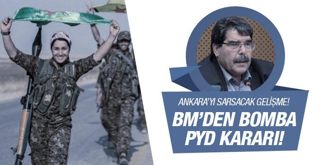 BM den Ankara ya şok! PYD davet edildi!