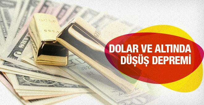 Dolar kuru ve altın fiyatları bugün inanılmaz düşüş 29 Ocak