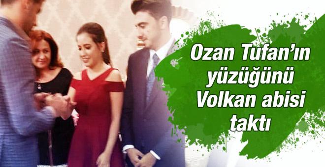 Ozan Tufan evliliğe ilk adımını attı