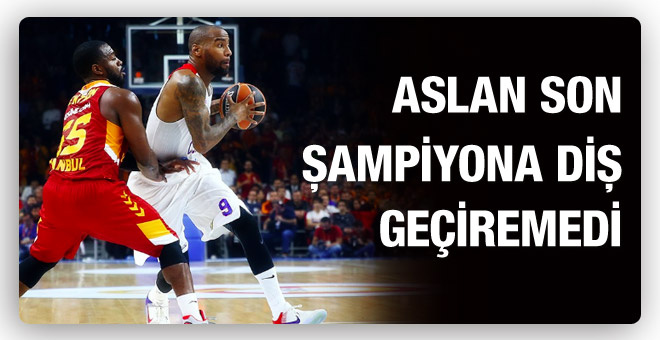 Galatasaray son şampiyona çarpıldı!