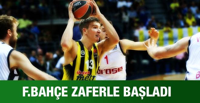 Fenerbahçe Avrupa'ya zaferle başladı