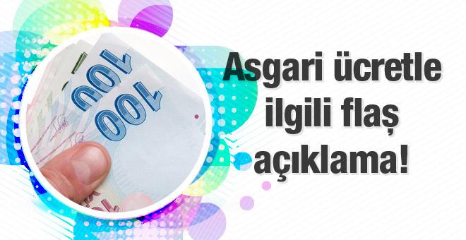 Asgari ücret düşecek mi Ağbal'dan flaş açıklama