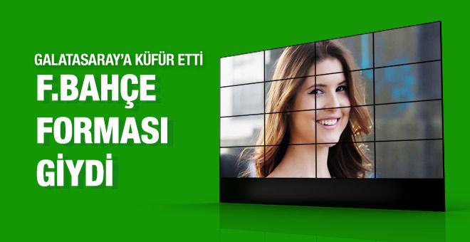 Amanda Cerny Fenerbahçe forması giydi