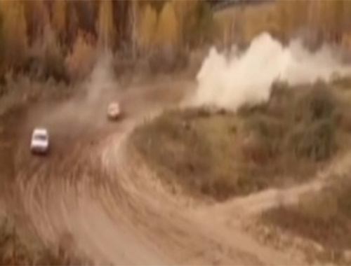 Yarış pistinde feci kaza!
