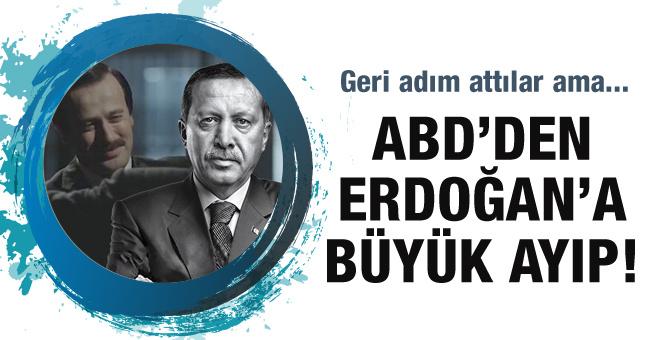 ABD'den Erdoğan'a büyük ayıp! Geri adım attılar ama...