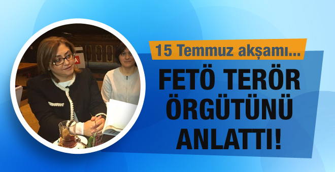 Fatma Şahin FETÖ terör örgütünü anlattı!