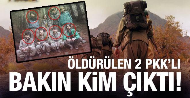 Karadeniz'de öldürülen 2 PKK'lı bakın kim çıktı!