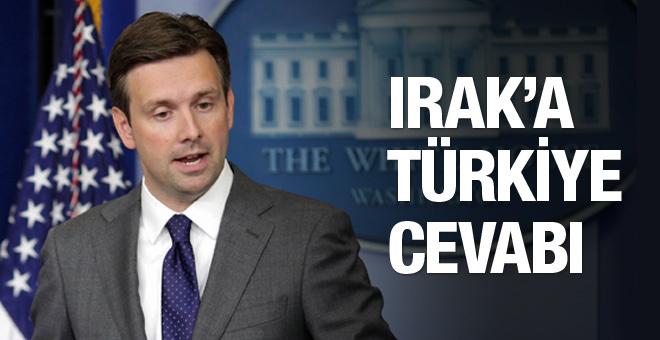 ABD'den Irak'a tokat gibi Türkiye cevabı