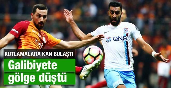 Trabzon'un galibiyetini kutlarken kızını vurdu