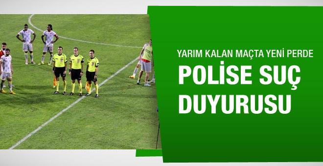 Eskişehirspor suç duyurusunda bulundu