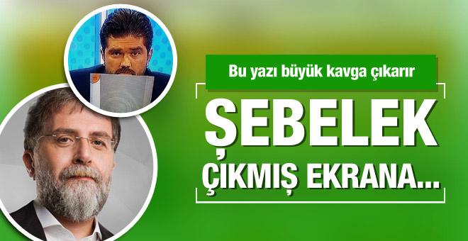 Ahmet Hakan'dan Rasim Ozan Kütahyalı'ya ağır sözler