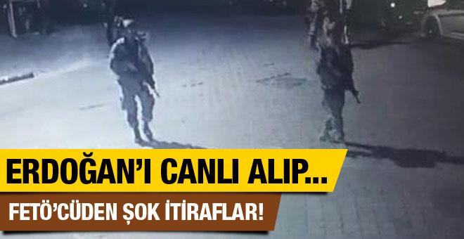 FETÖ'cü astsubay anlattı! Erdoğan'ı canlı alıp...