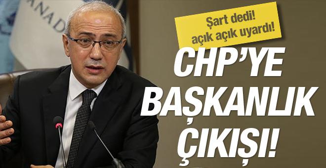 Lütfi Elvan'dan CHP'ye Başkanlık sistemi çıkışı