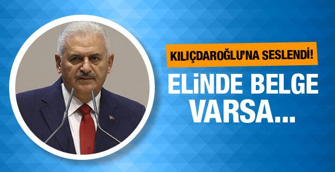 Yıldırım'dan Kılıçdaroğlu'na: Elinde belge varsa...