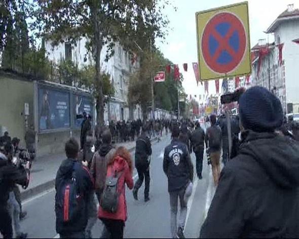 Şişli'de HDP'li gruba polis müdahale etti!