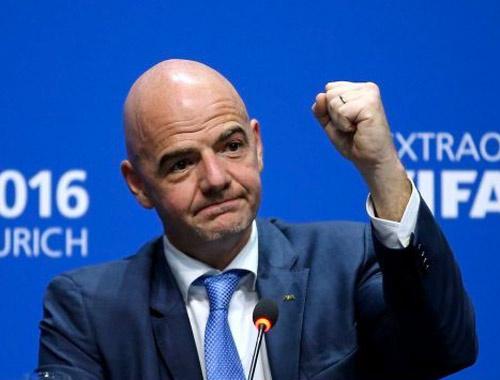 Infantino'dan 48 takımlı Dünya Kupası müjdesi