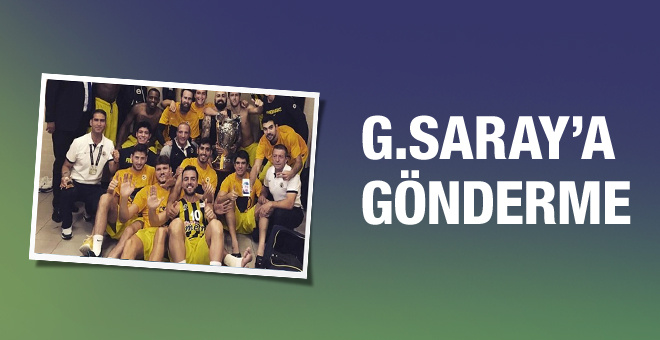 Fenerbahçe'den Galatasaray'a 6 göndermesi